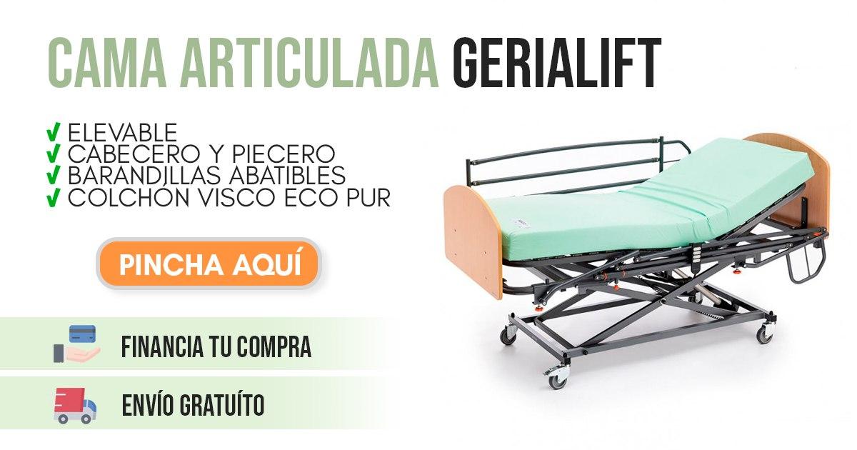 banner cama articulada para enfermos gerialift