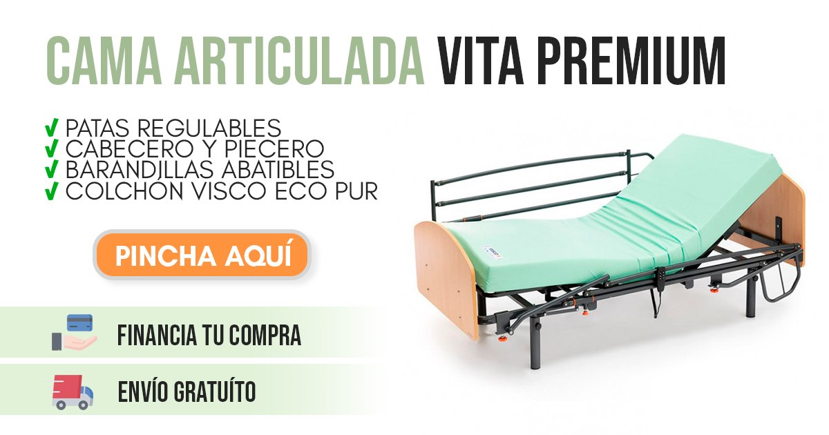 banner cama articulada para enfermos vita premium