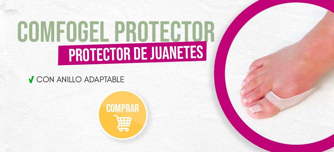 banner Comforgel Protector De Juanetes Con Anillo Adaptable Talla Unica