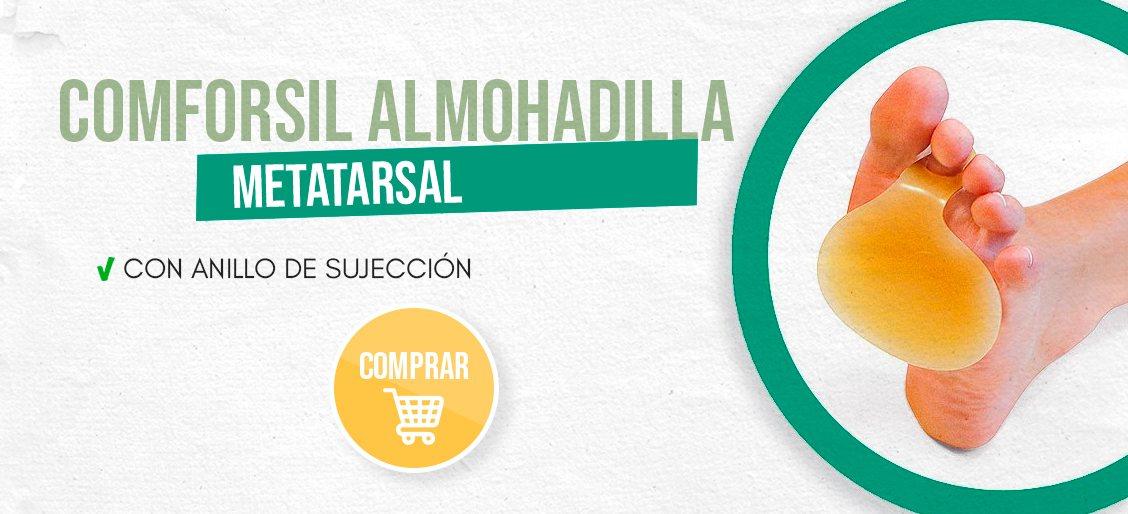 banner Comforsil Almohadilla Metatarsal Con Anillo De Sujección 3er Dedo Talla Única