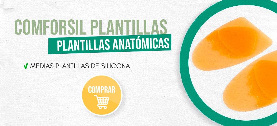 banner Comforsil Medias Plantillas Anatomicas Talla Unica