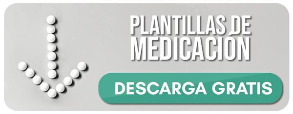 banner para descargar las plantillas de medicació semanal