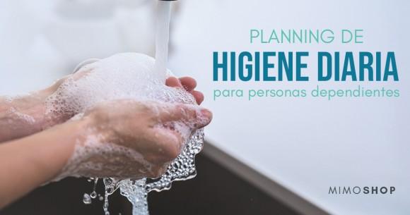 Planifica la higiene de una persona dependiente