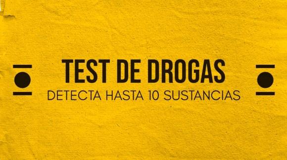 Test de drogas | Detecta hasta 10 sustancias en orina