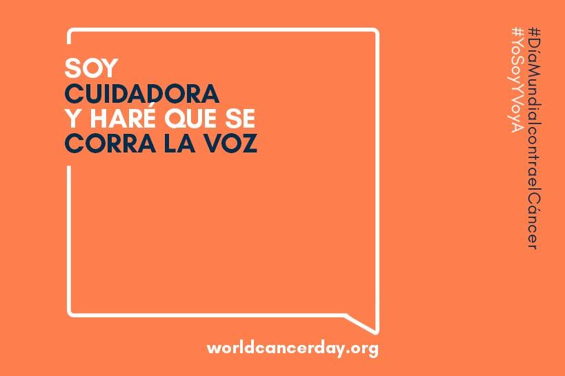 cartel dia mundial contra el cancer yo soy y voy a 2020
