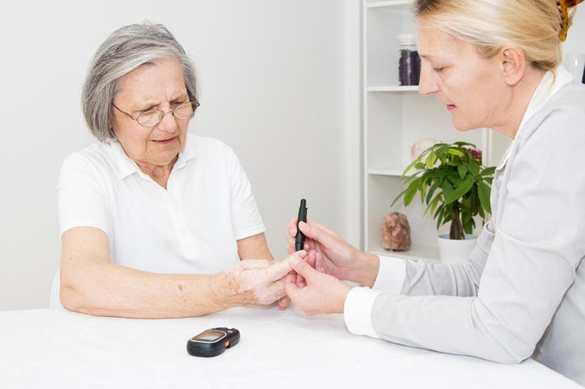control de diabetes tipo 1 ejercicio de ancianos