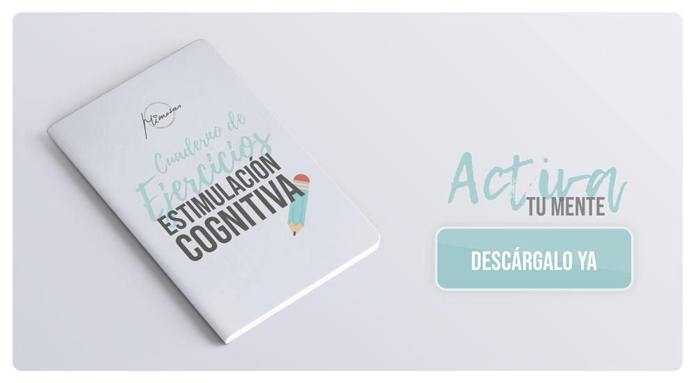 Cuaderno de ejercicios de estimulación cognitiva de Grupo Las Mimosas
