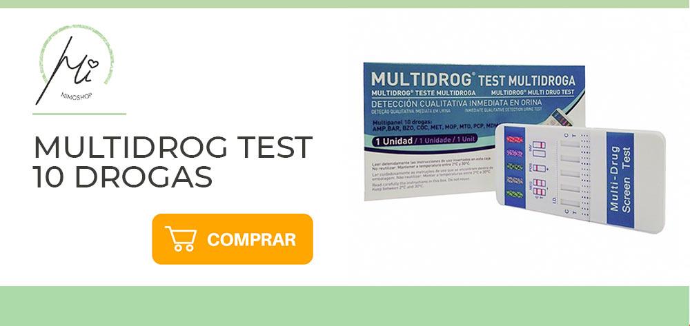 Test de drogas varias sustancias