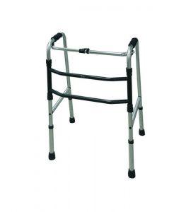 Andador de aluminio de pasos