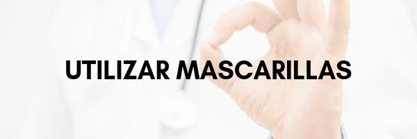 Utilizar mascarillas para evitar el contagio de enfermedades
