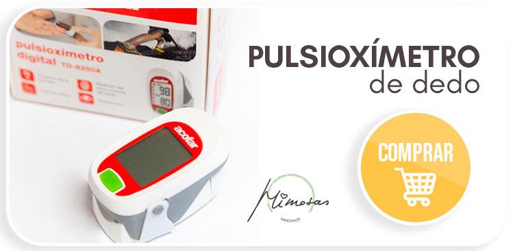 Comprar un pulsioxímetro de dedo en MimoShop
