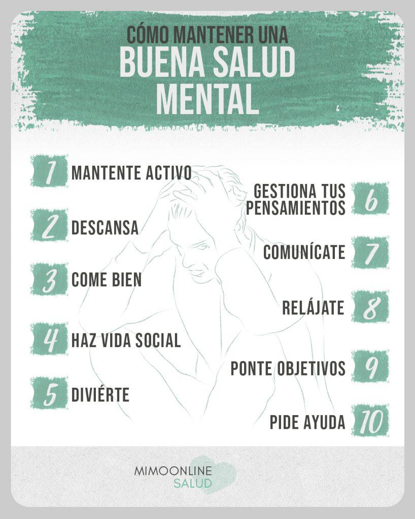 cómo puedes cuidar tu salud mental